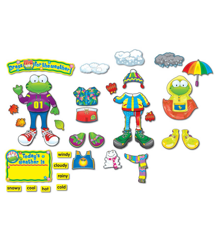 Weather Frog Bulletin Board Set Product Image