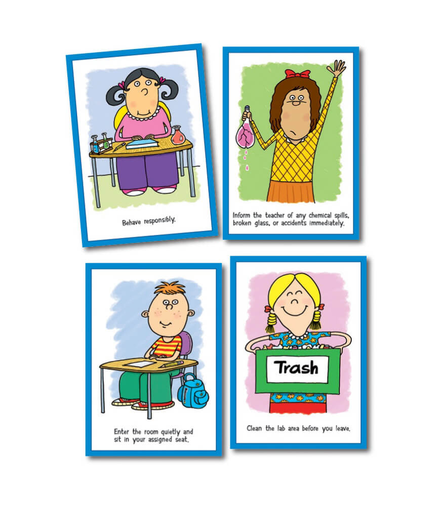 Lab Expectations Bulletin Board Set Product Image