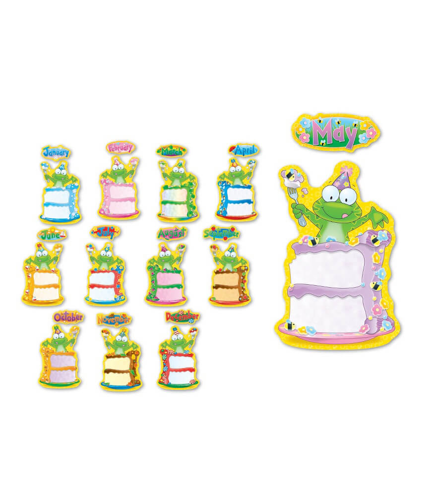 Frog Birthday Bulletin Board Set Product Image