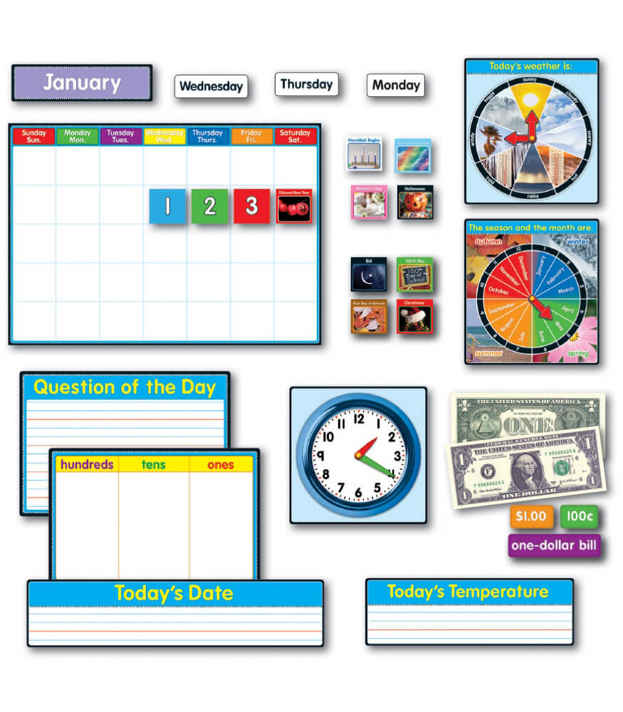 Morning Meeting Solution Bulletin Board Set Product Image