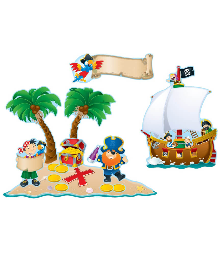 Pirates Bulletin Board Set Product Image