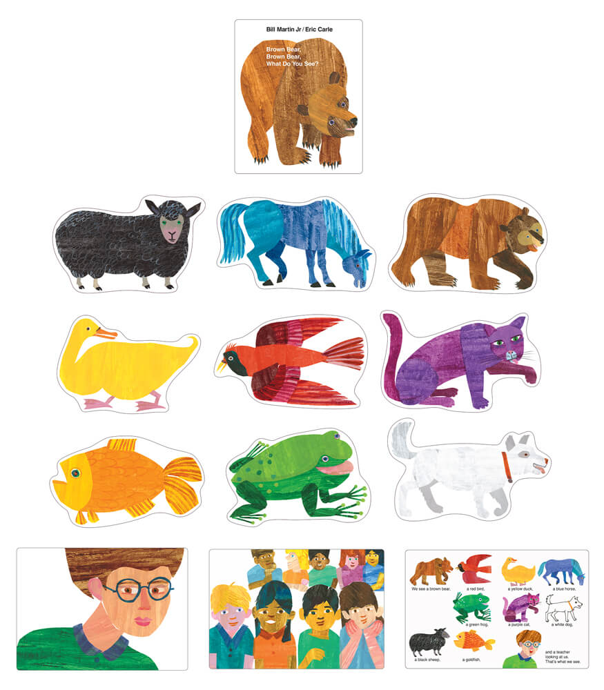 Brown Bear, Brown Bear, What Do You See? Bulletin Board Set Product Image