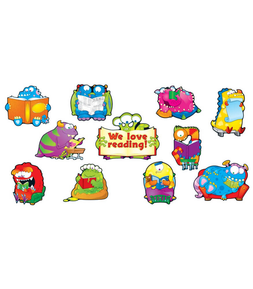 Reading Monsters Bulletin Board Set Product Image