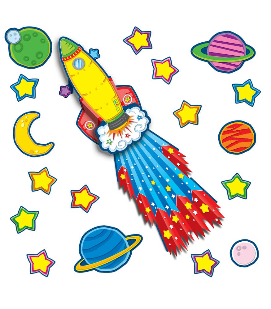 Rocket Bulletin Board Set Product Image