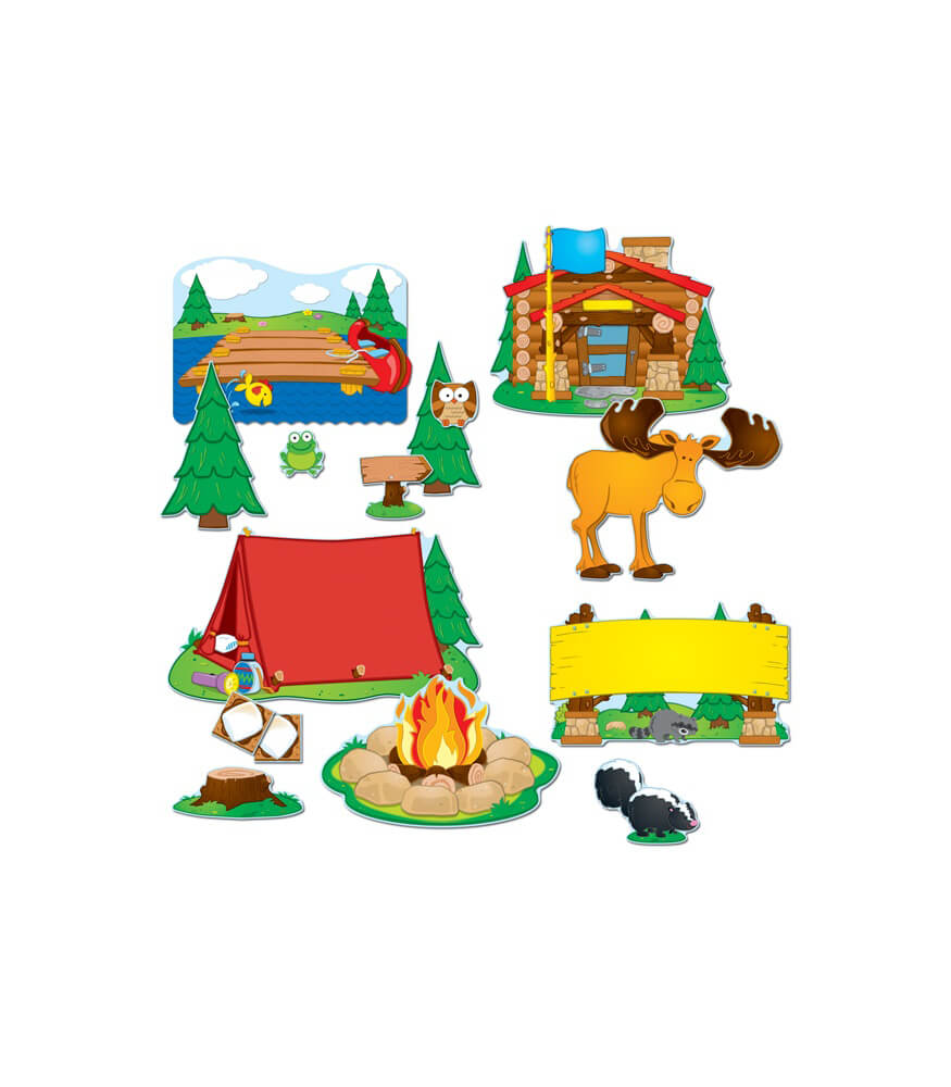 Camping Bulletin Board Set