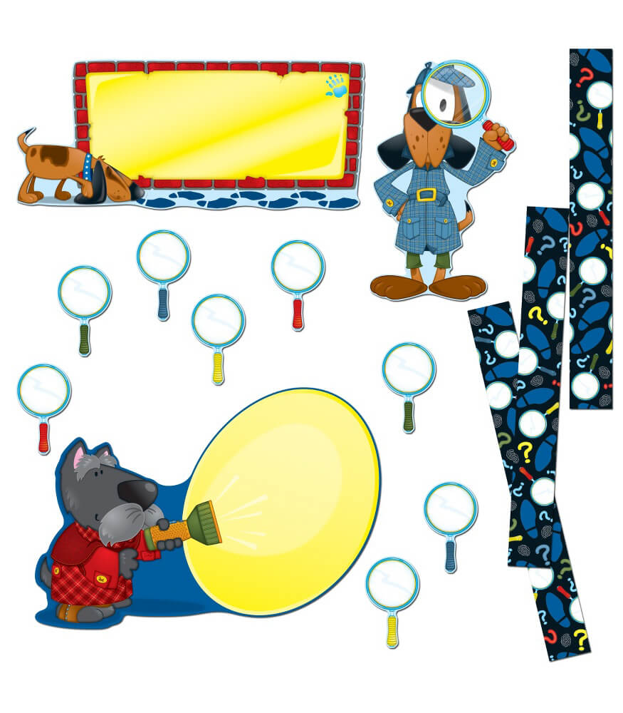 Super Sleuths Bulletin Board Set