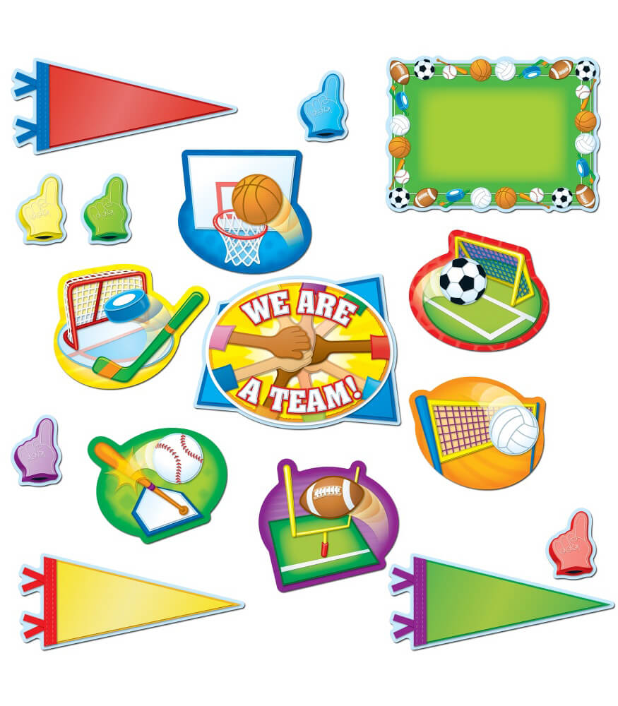 All-Star Sports Bulletin Board Set Product Image