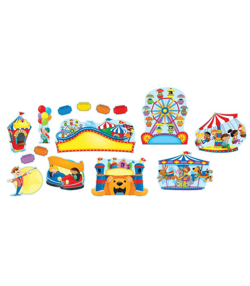 Carnival Fun Bulletin Board Set Product Image