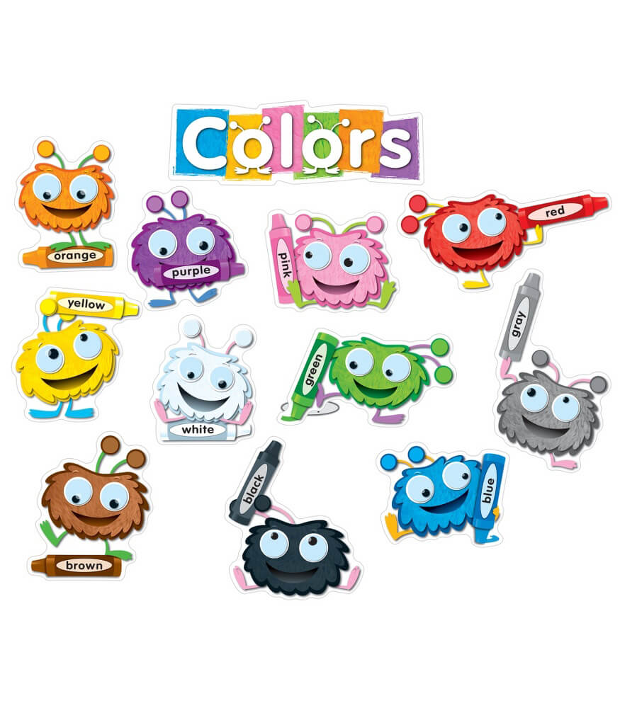 110173 Color Critters Bulletin Board Set 110173 on Fun Spring Bulletin Boards