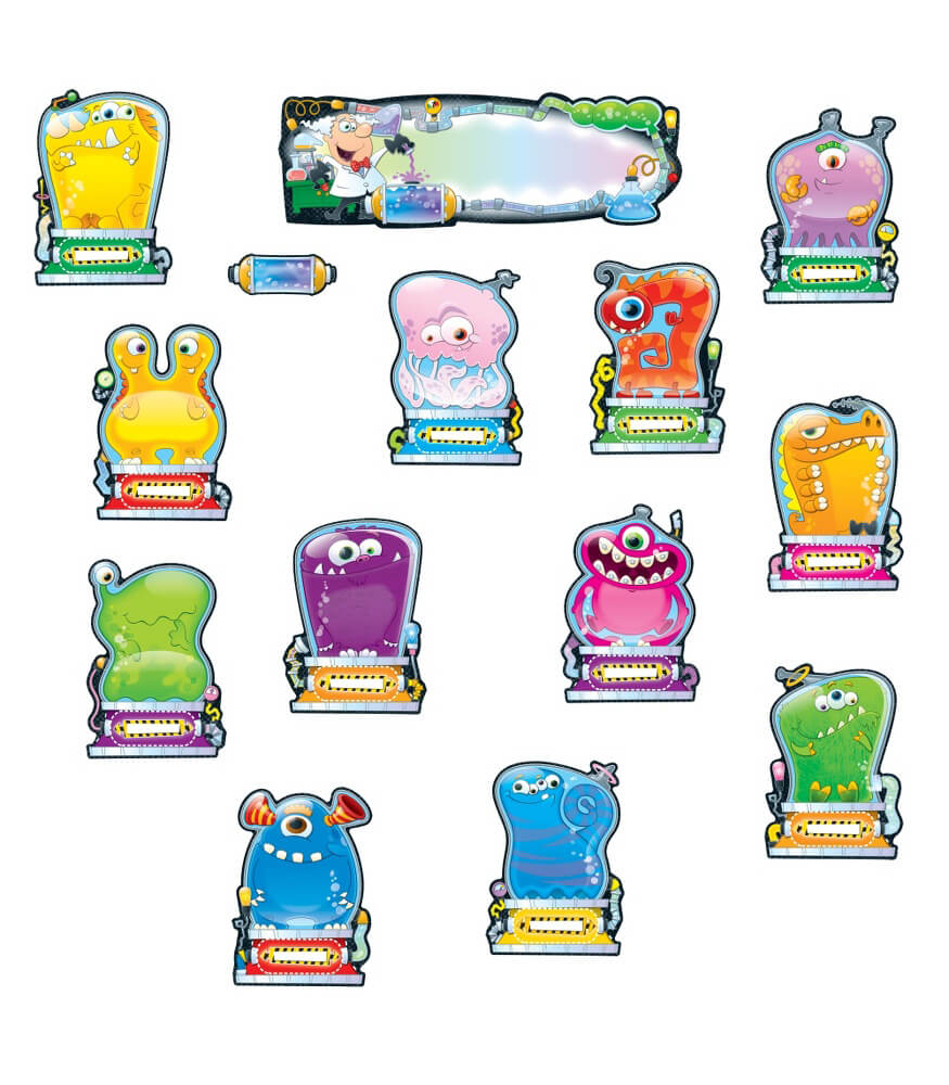 Monster Job Assignment Bulletin Board Set Product Image
