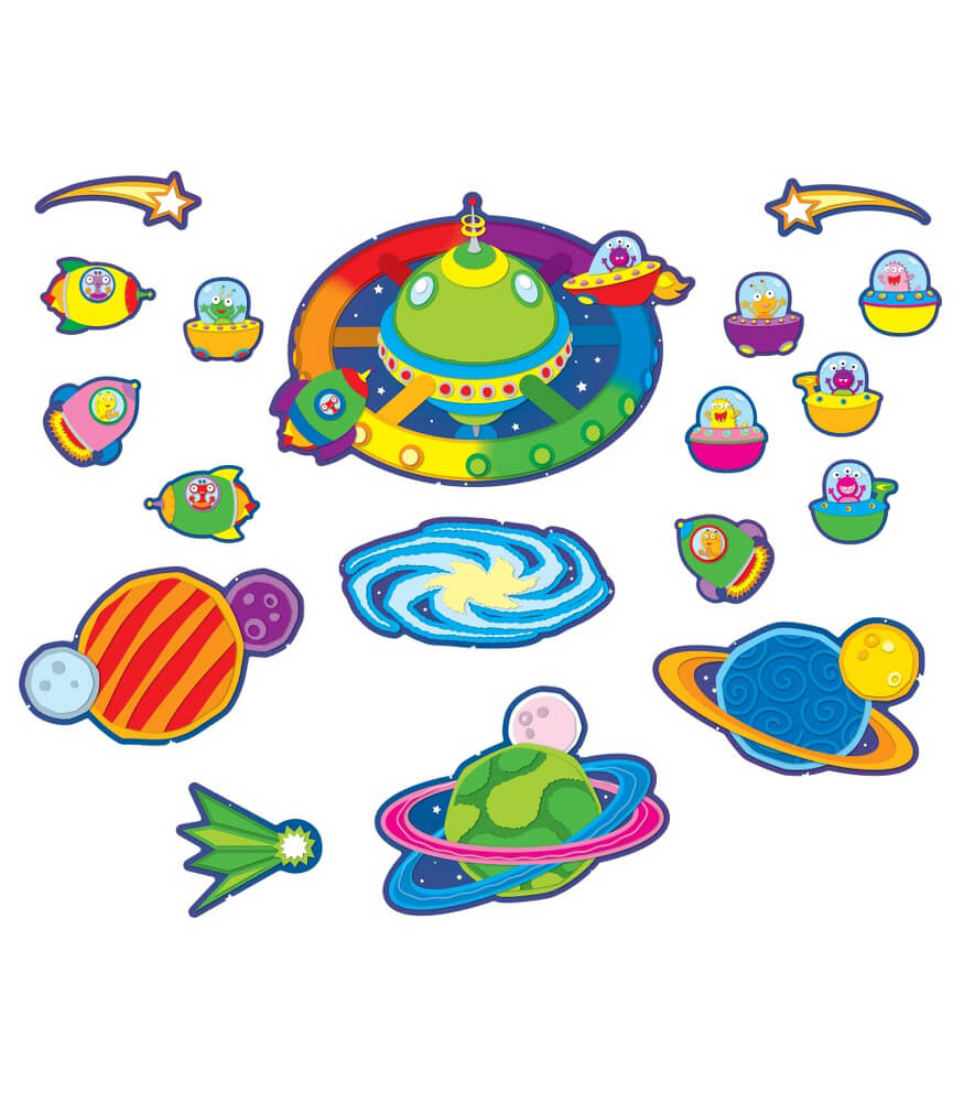 Out of This World Bulletin Board Set Product Image