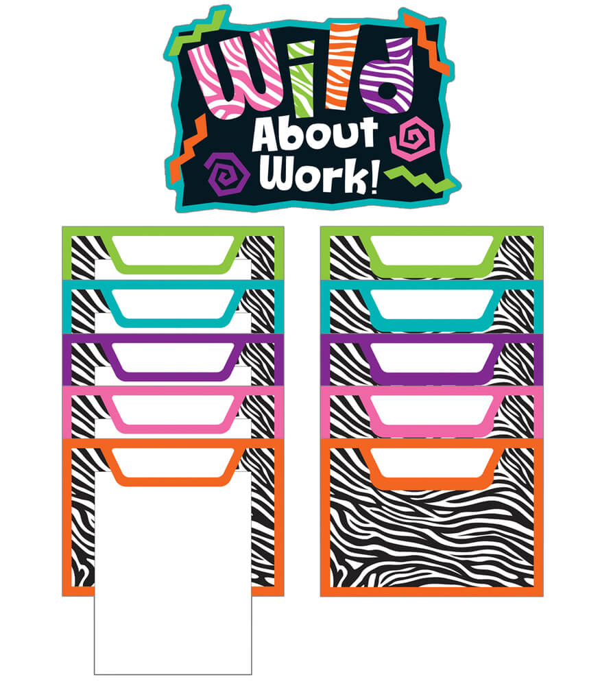 Wild Style Work! Bulletin Board Set Product Image