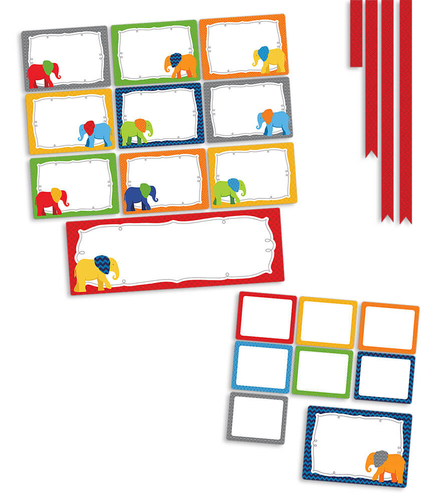 Parade of Elephants Classroom Management Bulletin Board Set Product Image
