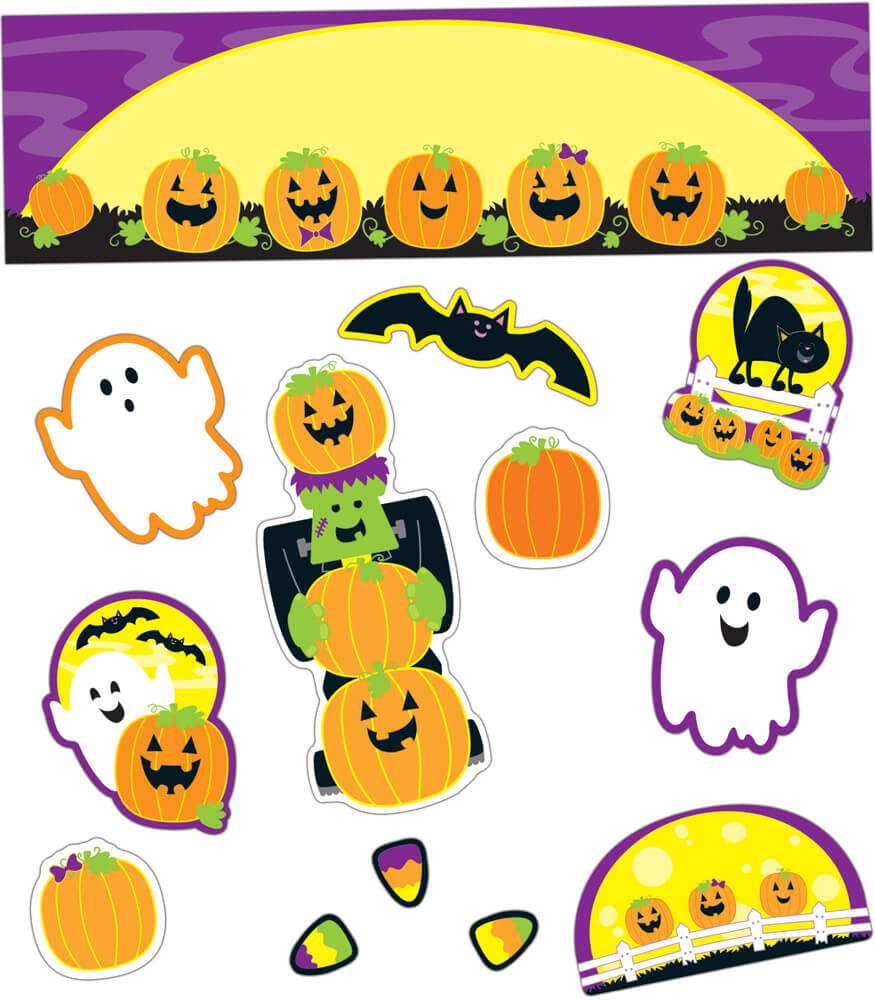 Halloween Mini Bulletin Board Set Product Image