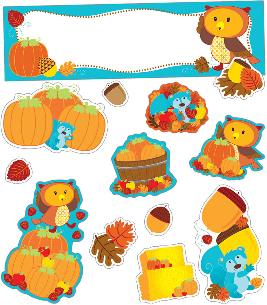 Fall Mini Bulletin Board Set Product Image