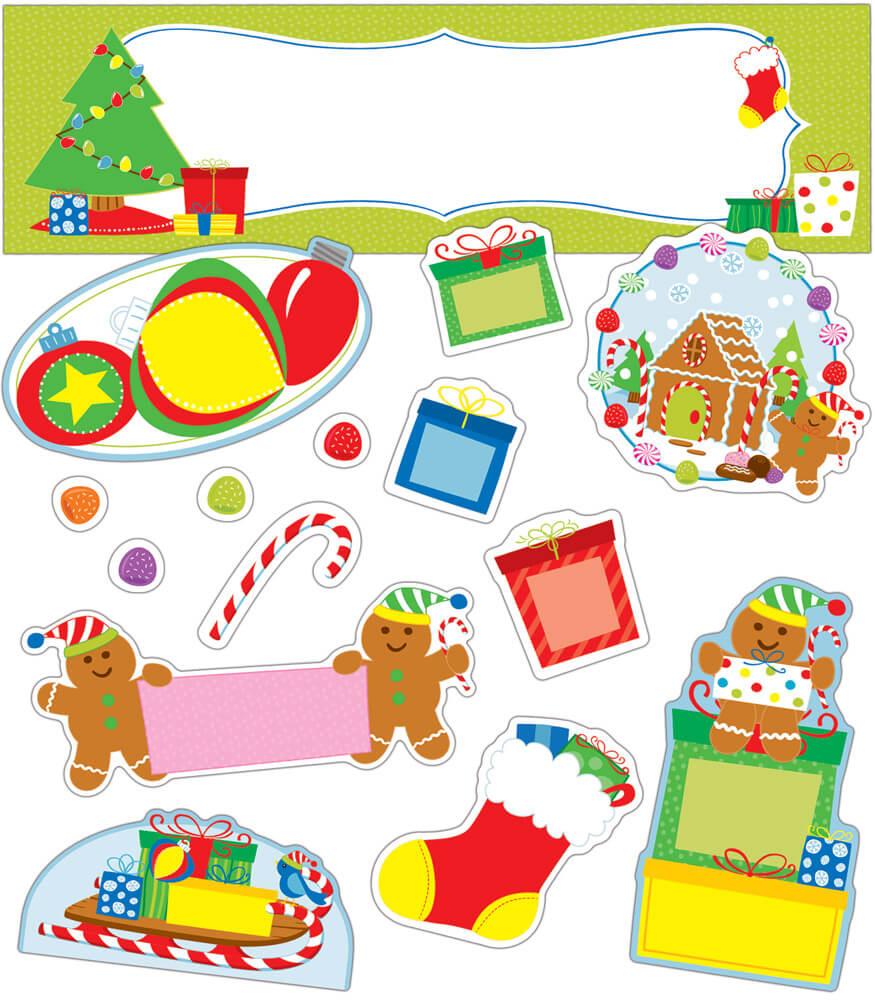 Holiday Fun Mini Bulletin Board Set Product Image
