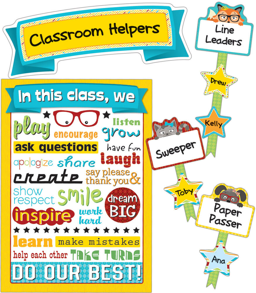 Classroom Management Decor ~ Hipster classroom management bulletin board set
