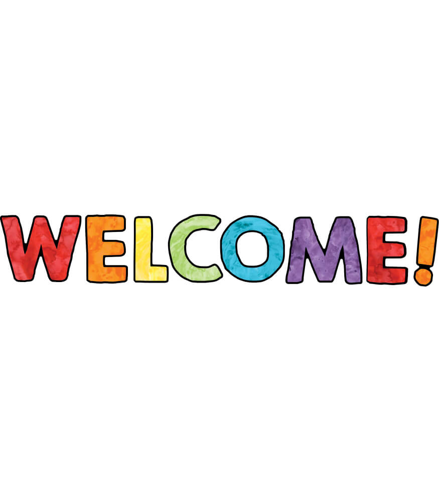 Celebrate Learning Welcome Bulletin Board Set Product Image
