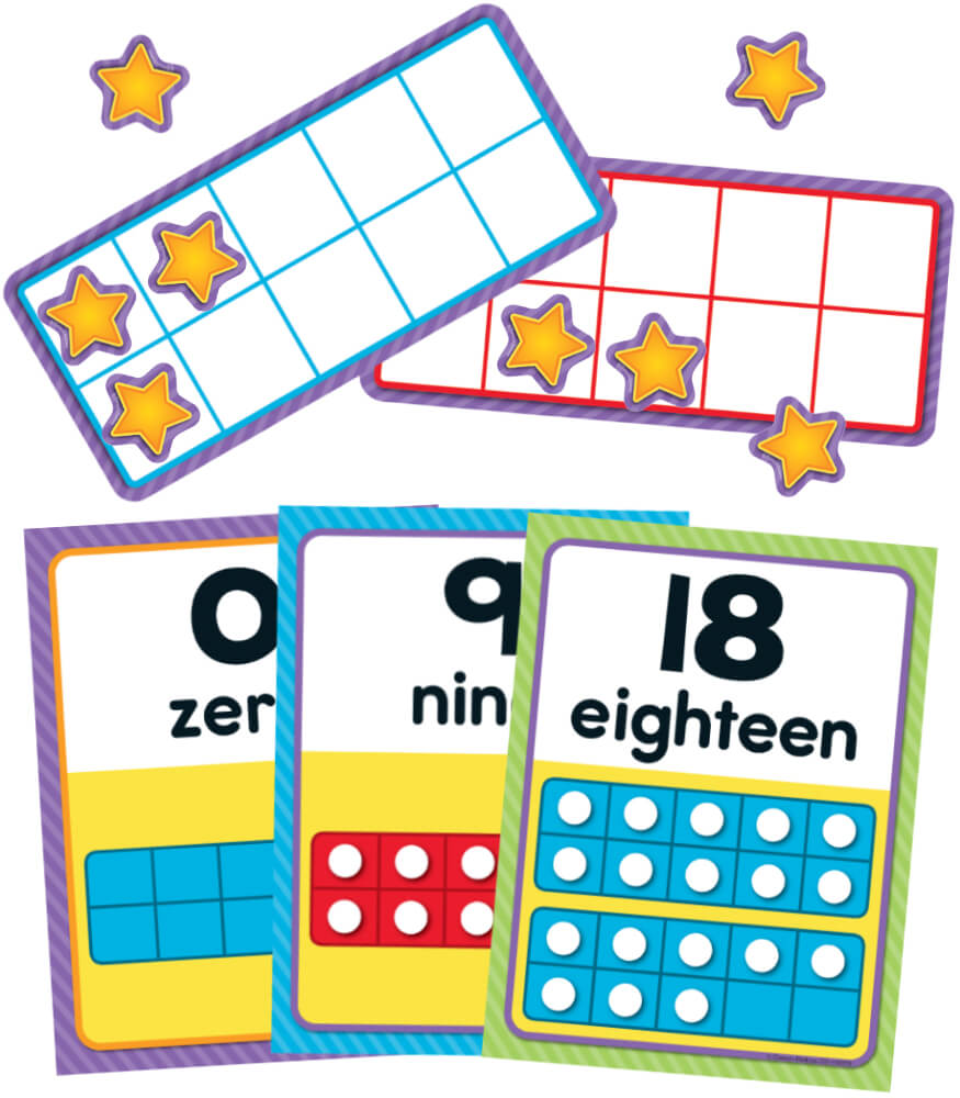 Numbers 0-20 Bulletin Board Set Product Image