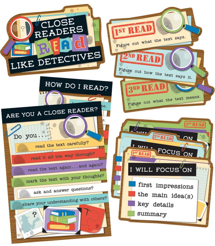 Close Reading Bulletin Board Set Product Image