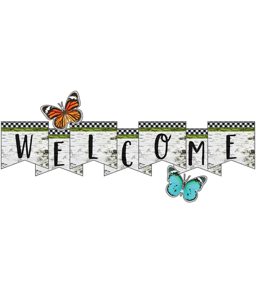 Woodland Whimsy Welcome Bulletin Board Set Product Image