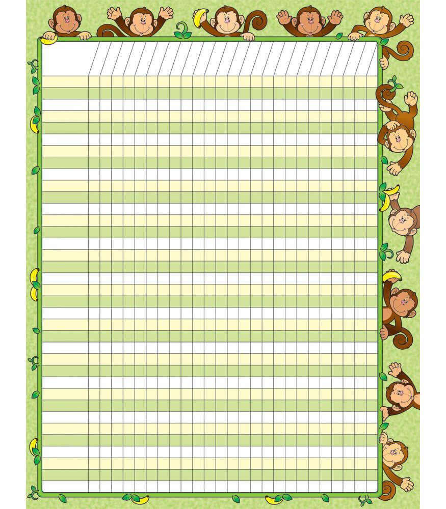Monkeys Incentive Chart Product Image