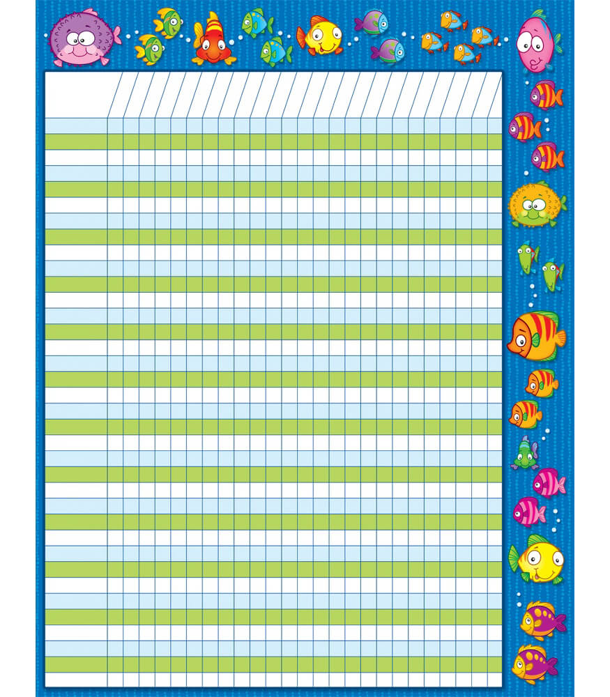 Fish Incentive Chart Product Image