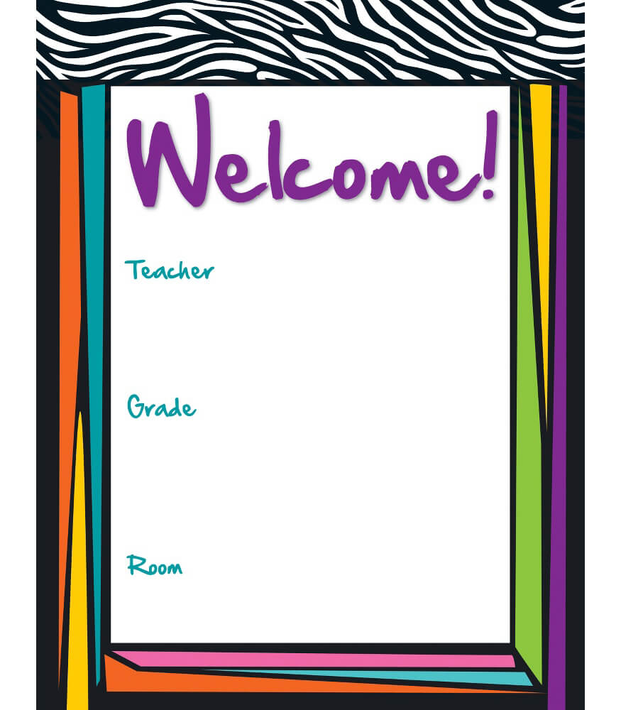 Wild Style Welcome Chart Product Image