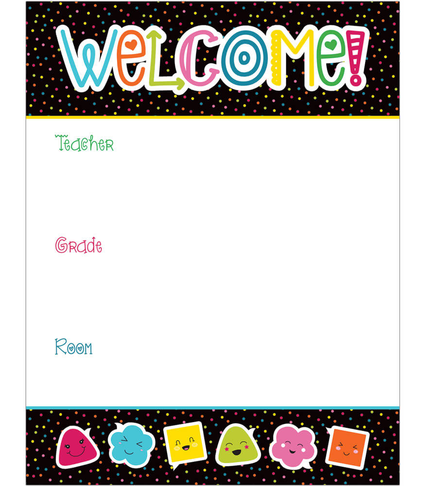 School Pop Welcome Chart Product Image