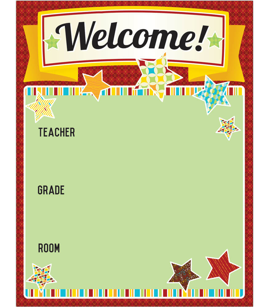 Hipster Welcome Chart Product Image