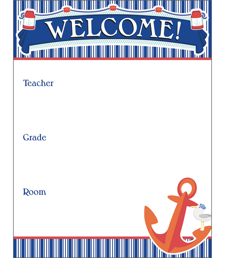 S.S. Discover Welcome Chart Product Image