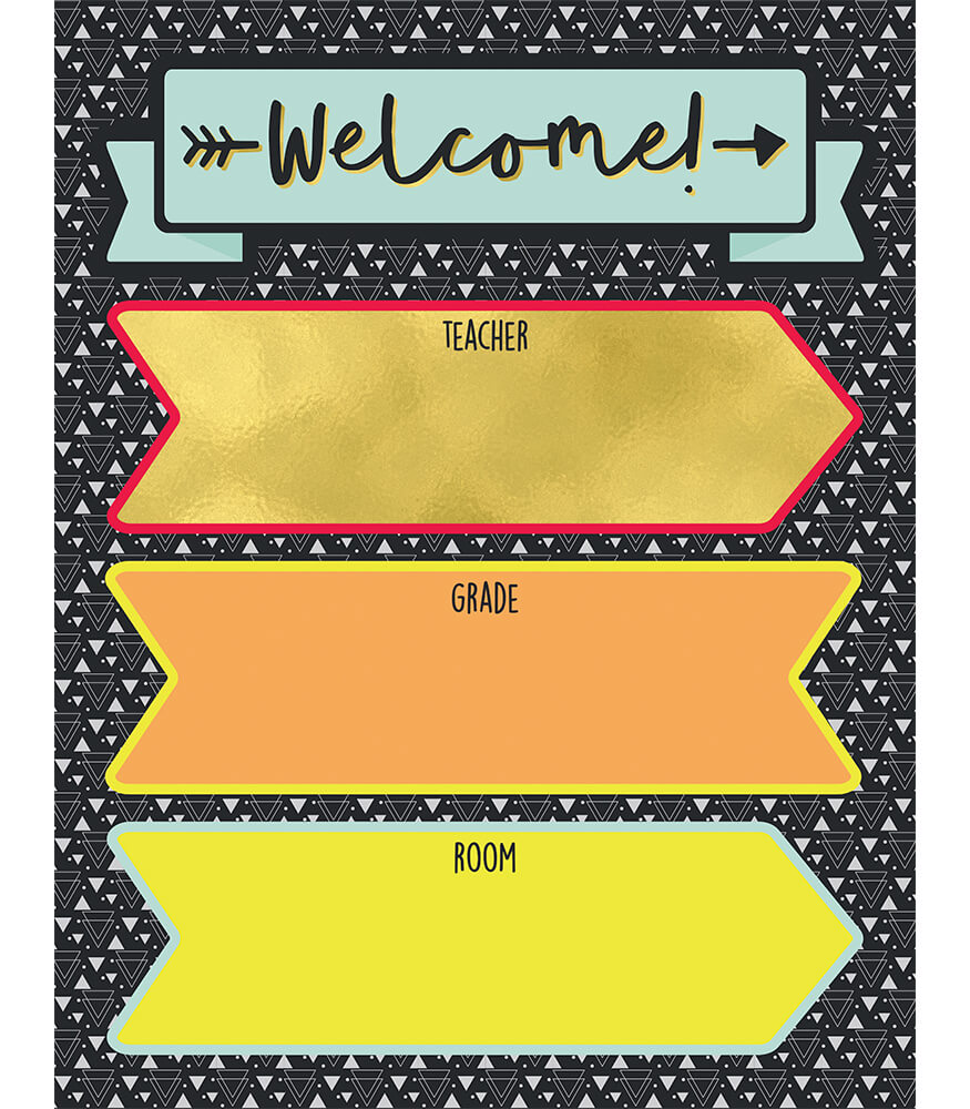 Aim High Welcome Chart Product Image