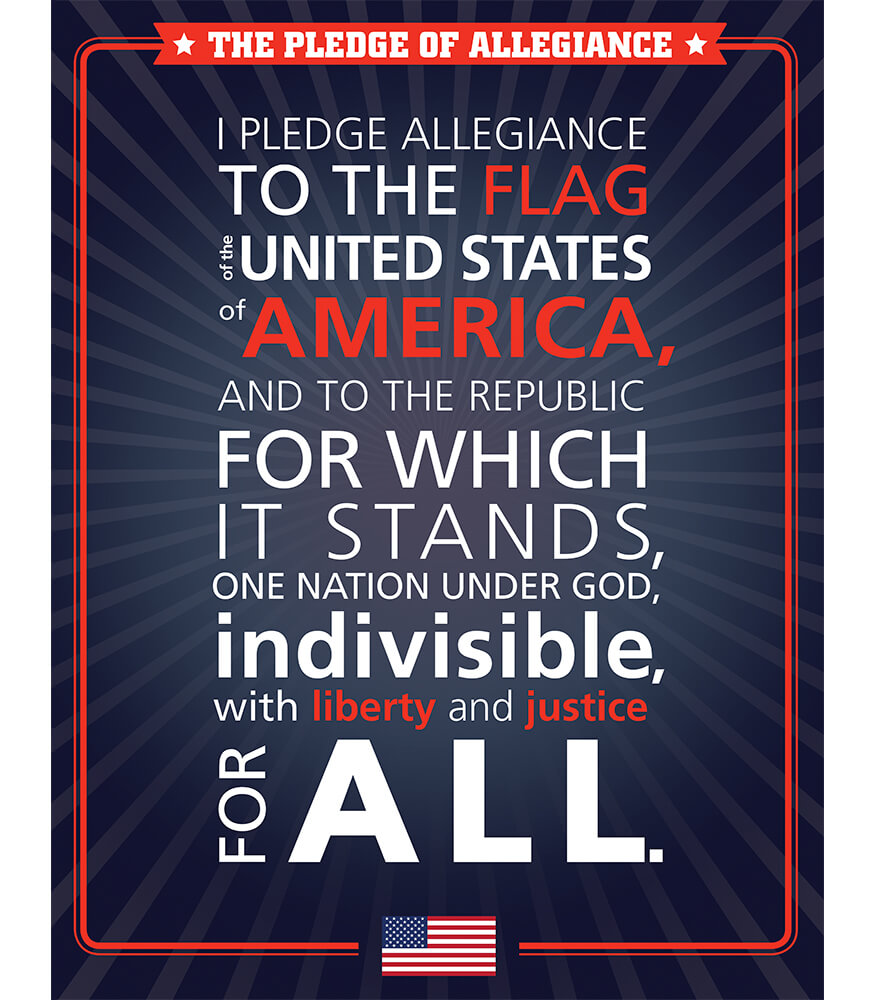 The Pledge of Allegiance Chart Product Image