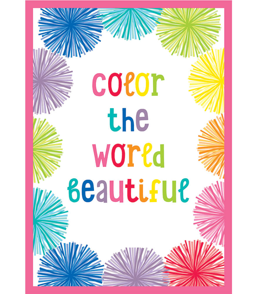 Color the World Beautiful Chart Product Image