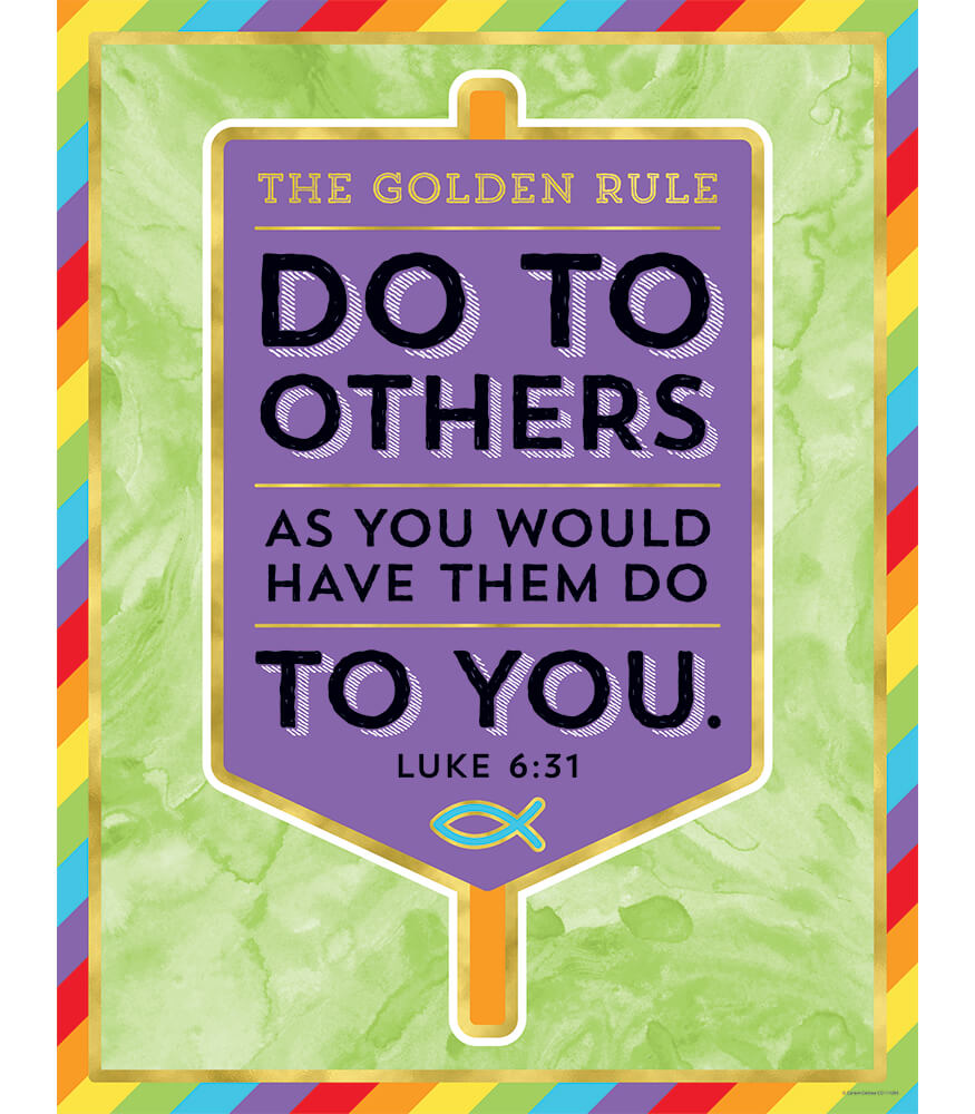 The Golden Rule Chart Product Image
