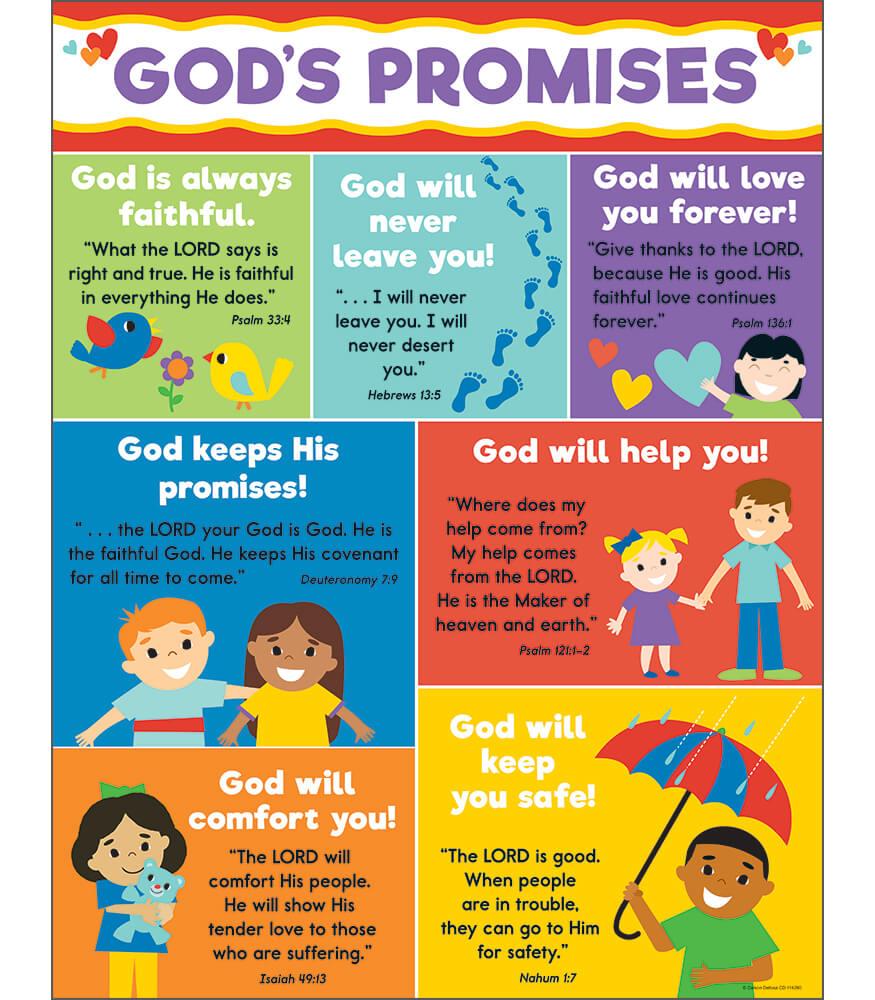 God's Promises Chart Product Image