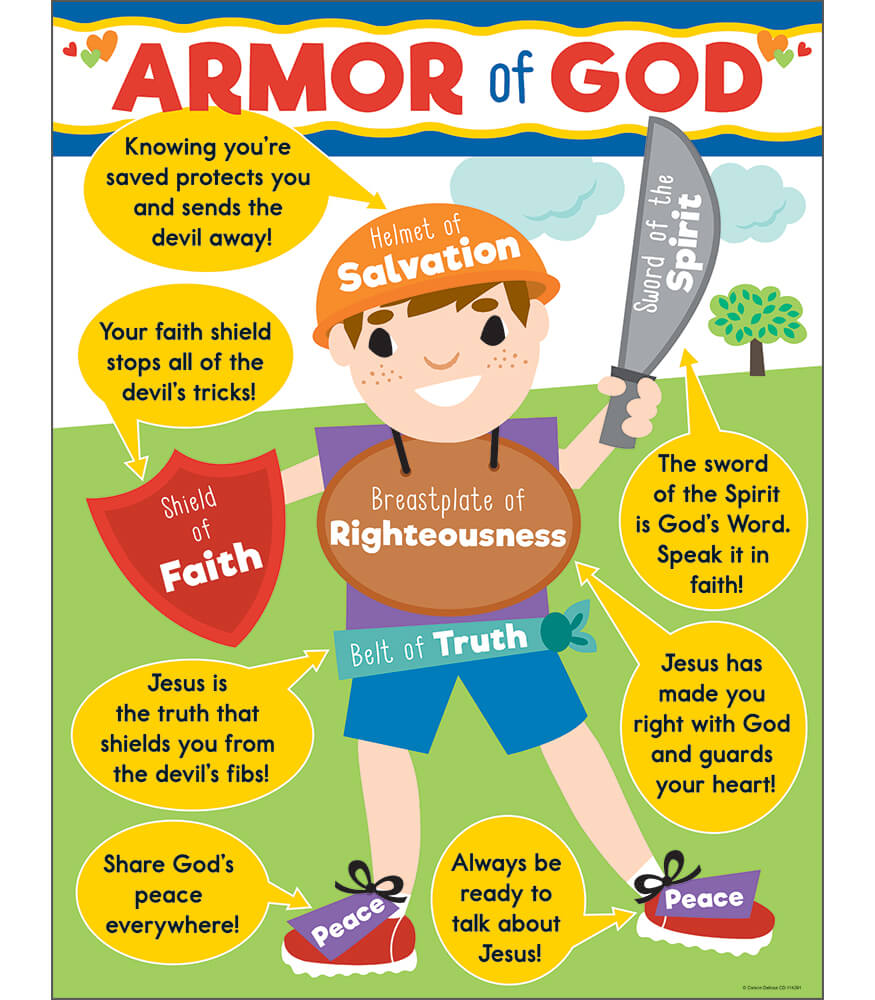 Armor of God Chart Product Image