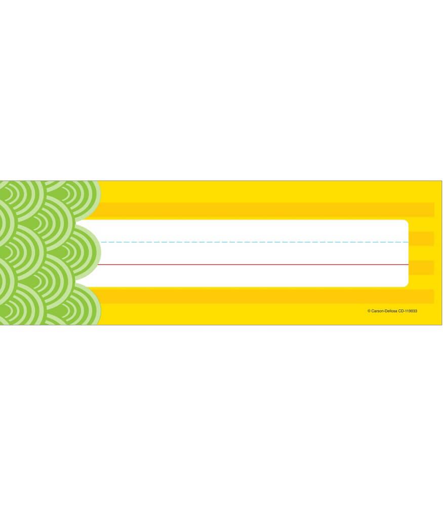 Lemon Lime Nameplates Product Image