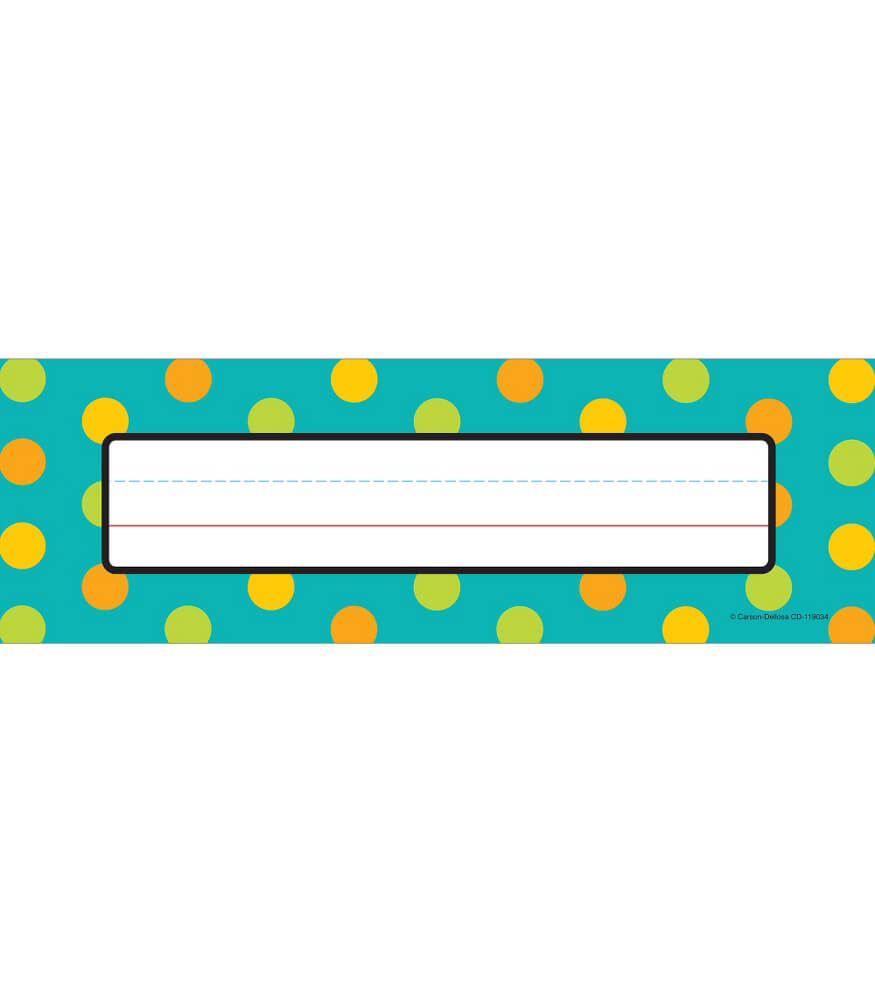 Teal Appeal Nameplates Product Image