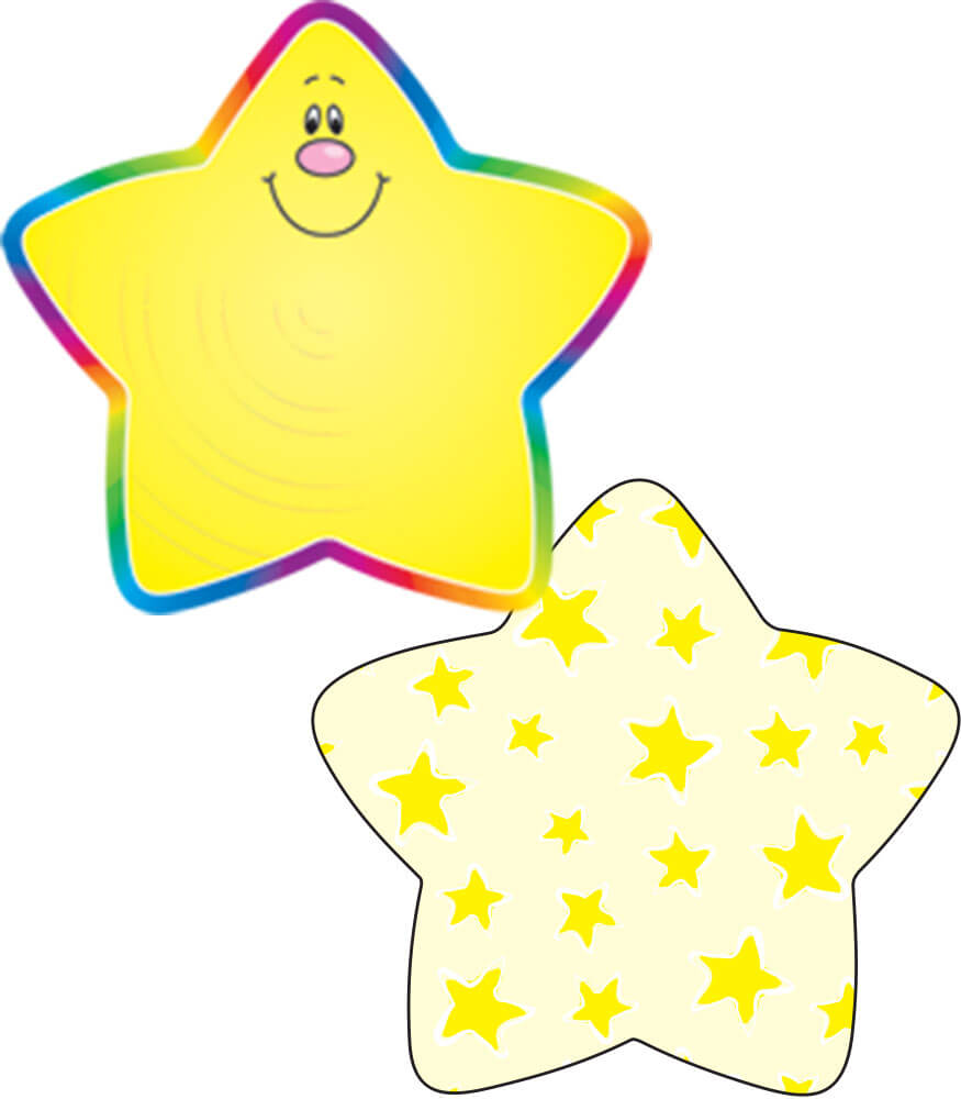 Stars Yellow  Mini Cut-Outs Product Image