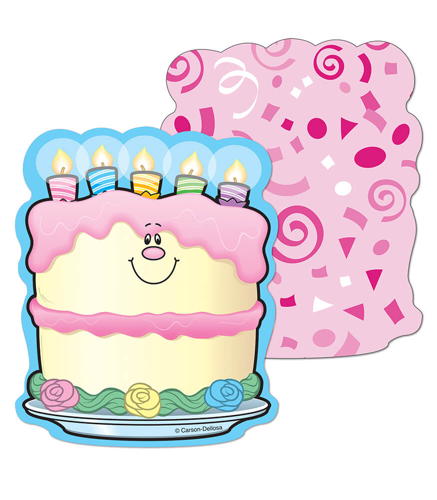 Birthday Cakes Mini Cut-Outs Product Image