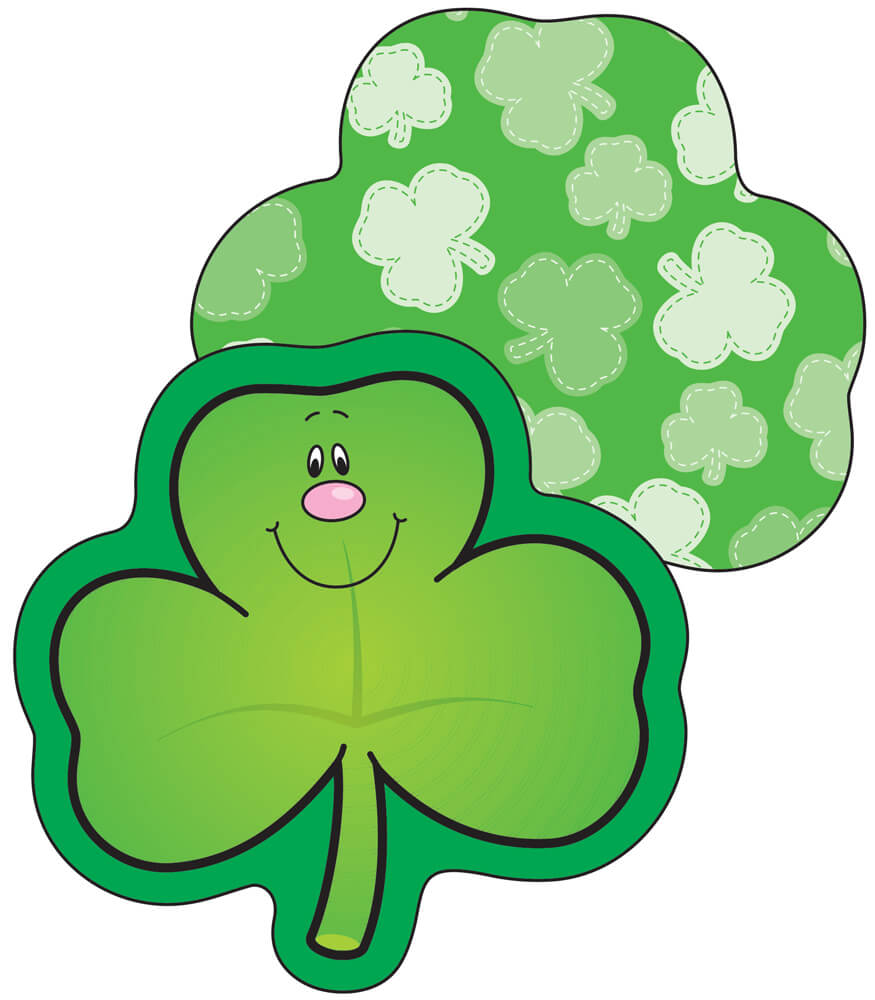 Shamrocks Mini Cut-Outs Product Image