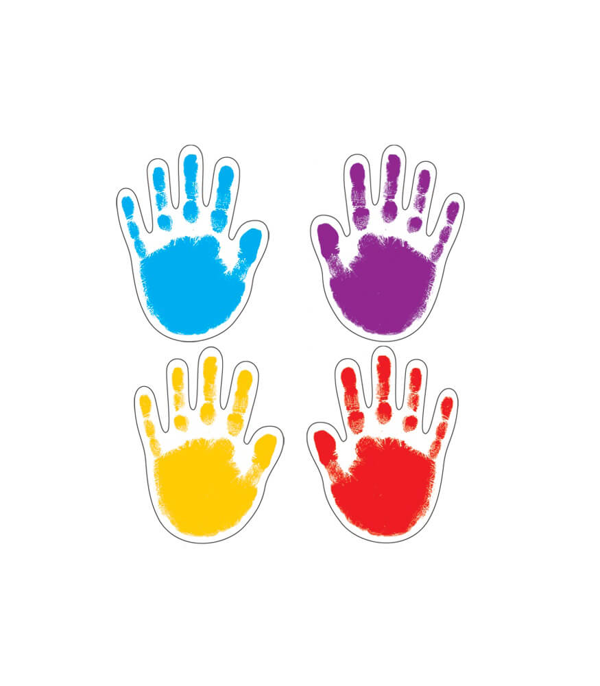 Handprints Cut-Outs Product Image