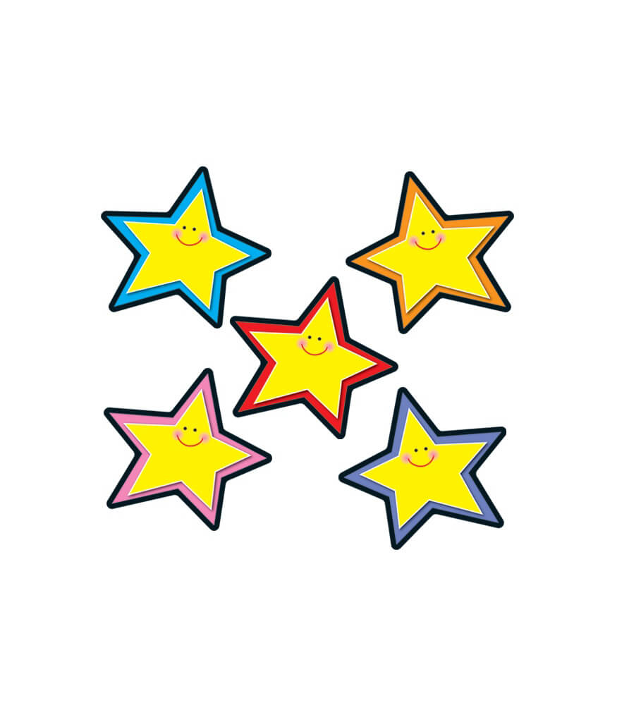 Stars Yellow Assorted Cut-Outs Product Image