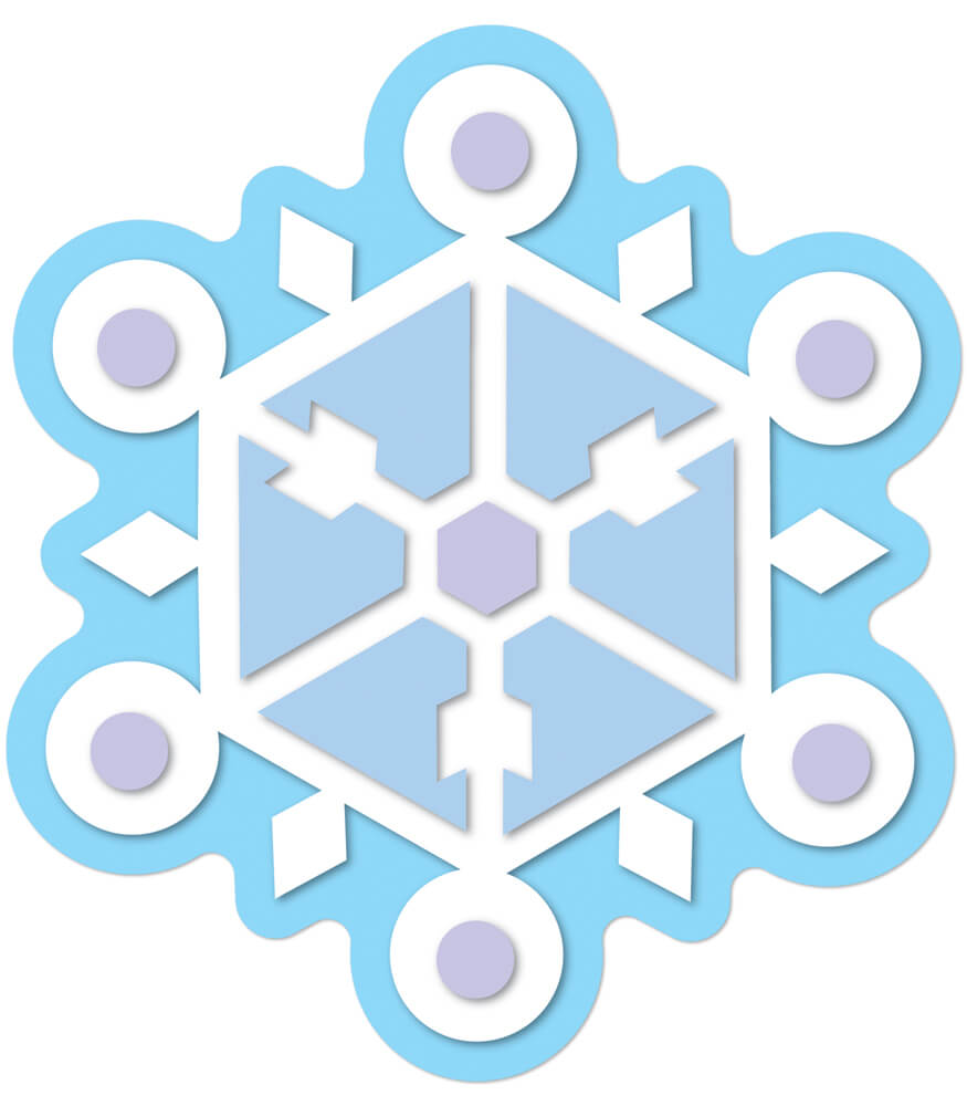 Snowflake Cut-Outs Product Image