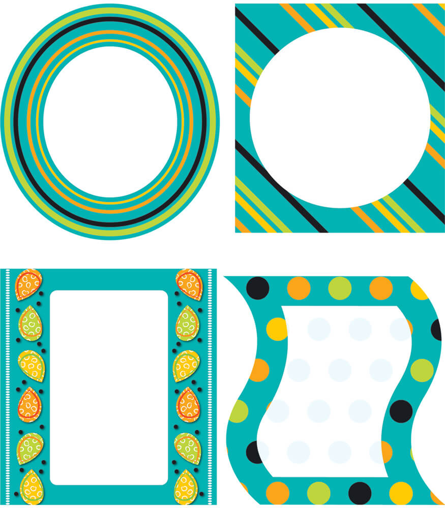 Teal Appeal Cut-Outs Product Image