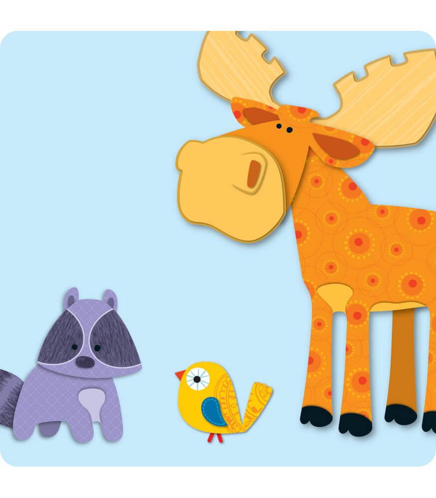 Moose & Friends Mini Cut-Outs Product Image