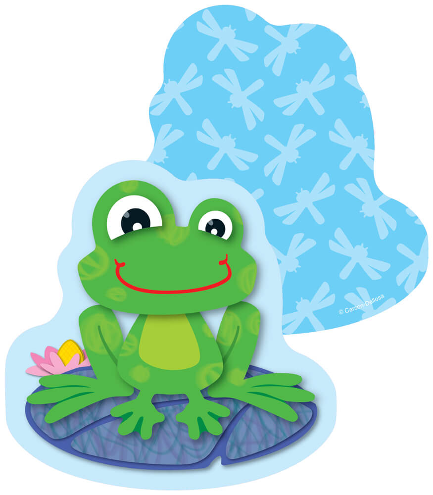 FUNky Frogs Mini Cut-Outs Product Image
