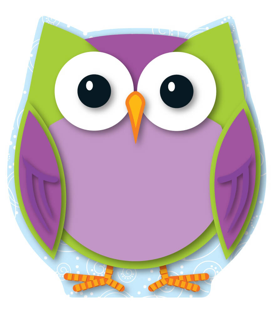 Colorful Owl Mini Cut-Outs Product Image