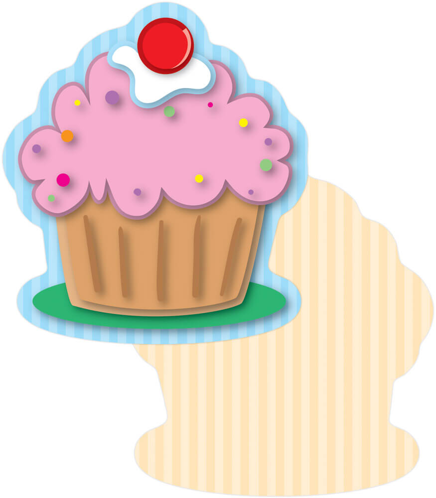 Cupcakes Mini Cut-Outs Product Image